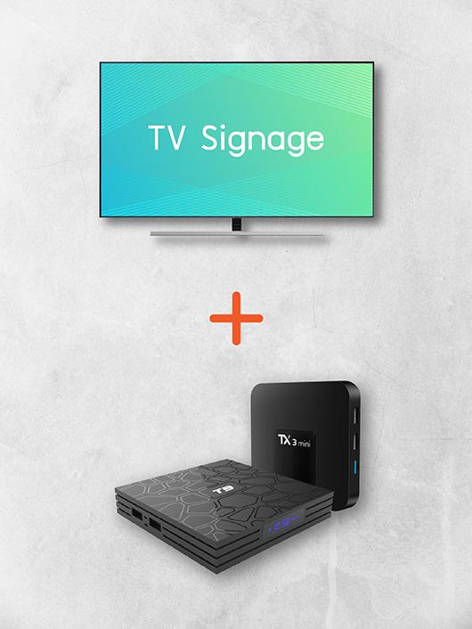TV Signage Set